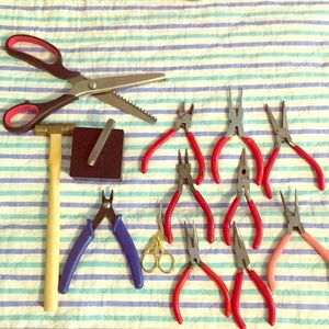 Zigzag sizzlers and jewelry tools 🌺🌺🌺